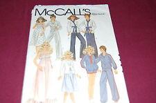 McCalls Vintage Pattern # 7774 - Fashion Doll Barbie & Ken Clothes - NEW