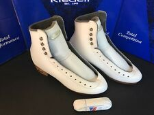 Riedell 355 Silver Star Women's Figure Skate Boot Size 5.5 A/AA