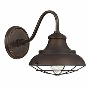 Capital Lighting 4561BB One Light Barn Style Outdoor Shade