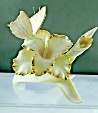 Lenox Ivory China Springtime Blush Butterfly & Iris Flower Numbered 0731