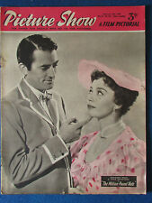 Picture Show Magazine - 13/2/1954 - Gregory Peck & Jane Griffiths Cover