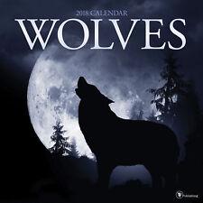 2018 Wolves Wall Calendar