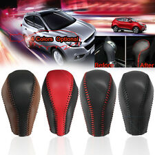 Leather Gear Stick Shift Knob Cover Handle Shifter Lever For Infiniti QX50 QX70