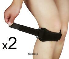 2 Jumper's Knee Brace Support Strap Patella Tendon New by Flexibrace