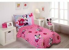 Minnie Mouse Fun Dream 4-Piece Toddler Bedding Set Great For Girls Bedroom
