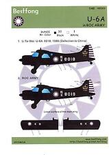 Bestfong Decals 1/48 DE HAVILLAND CANADA U-6A BEAVER Republic of China Army