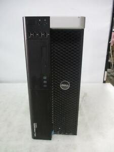 Dell Precision T3610 Xeon(R) E5-1620 v2 @3.70GHz 16GB 500GB HDD DVD+RW Tower PC