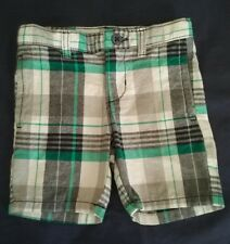 HOLIDAY EDITIONS PLAID KIDS SHORTS SIZE 2T