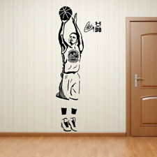 Basketball Player Stephen Curry Wall Sticker Kids Room Removable Decal Poster