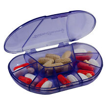 VitaCarry Multi-Day 8 Compartment Pill & Vitamin Travel Organizer for Daily Use