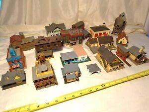 Lot of N Gauge Buildings / 19Total / N Gauge
