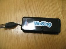 We Sing 4 Way USB hub adapter for Wii singing microphone games - Rockband etc