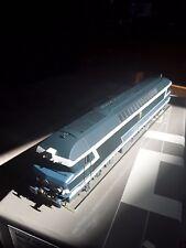 LEMATEC : CC 72084 livrée bleue , échelle H0 1/87 ème avec BO . LAITON / MESSING
