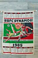 Orig. DDR Großer Kalender BFC Dynamo Berlin 1985 Wimpel DDR Oberliga Fussball