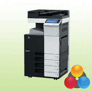 Konica Minolta bizhub C364e mit 4 PF Kopierer Drucker Scanner inkl. Toner A3