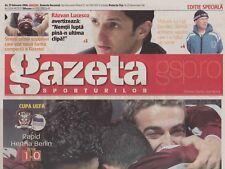 Programma | 2005-2006 | Rapid Bucharest V Hertha BSC Berlino | UEFA CUP