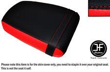 Diseño 3 Rojo y Negro de vinilo personalizado para Suzuki GZ 125 MARAUDER Cubierta de Asiento Trasero