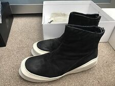 Julius Leather Boot Thick Sole Size 2 Japan (like Size 41-43) Avant Garde Black