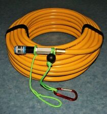 50' filtered stamped air breathing dive line for Hookah or Scuba applications