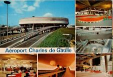 Aéroport Paris Charles-De-Gaulle Roissy l'aérogare et satellite - avion 747 - 2