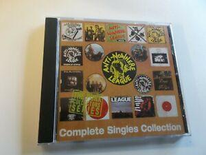 ANTI NOWHERE LEAGUE,COMPLETE SINGLES COLLECTION,CD ALBUM 1995