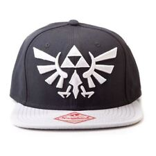 66b0f6c7236 Nintendo Legend of Zelda Twilight Princess Snapback Baseball Cap Black Grey