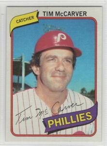 1980 Topps Baseball Philadelphia Phillies Team Set