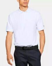 Under Armour Ua Mens Golf Polo Shirt Tech White Size Xl Msrp $501319027 Nwt