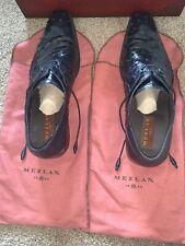 Mezlan ostrich shoes Blue  Men's Size 14