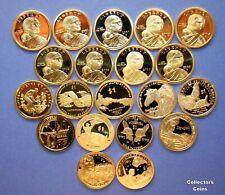2000 - 2019 Sacagawea Native American 20 Coin S Proof Set