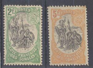 Somalia Coast 1903 Warriors - 2f & 5f