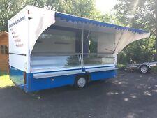 Borco-Höhns SDAH Verkaufsanhänger Anhänger mit Kühltheke Kühlung für zb Fisch