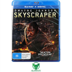 Skyscraper Dwayne Johnson Bluray [B]