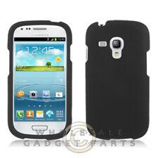 Samsung Galaxy S3 Mini Shield - Rubberized Black Case Cover Shell Shield