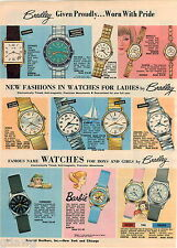 1968 ADVERT Bradley Wrist Watch Character Barbie Doll Commando Sea Date