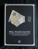 PISA. PIAZZA DANTE. AA.VV. Cassa di Risparmio.