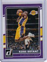 2015-16 Donruss Basketball Kobe Bryant #62 Retirement Year