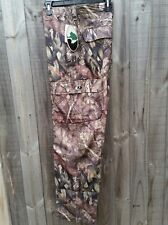 Mossy Oak Camo Cargo Rip-Stop Hunting Pants - Size 34