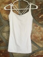 LULULEMON free to be tank in white size 4