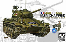 AFV Club 1/35 M24 Chaffee Light Tank The First IndoChina War French Army AF35S84
