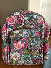 VERA BRADLEY Iconic Campus Backpack Mickey and Friends  NWT