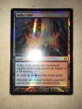 MTG Foil Rare Sulfur Falls x 1 NM - Innistrad