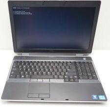 Dell Latitude E6530 i3-3120M @ 2.5GHz 4GB RAM 500GB HDD (Bad Battery See Descr.)