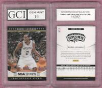 KAWHI LEONARD 2012-13 Hoops Graded Gem Mint 10 Rookie Card Toronto Raptors Spurs