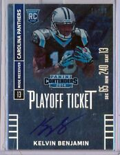 KELVIN BENJAMIN  2014 Contenders RPS Playoff Rookie Ticket AUTO /99  Panthers RC