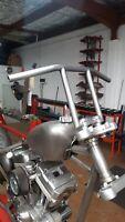 "TINWORKSINC 1"" 25mm Handlebars Harley Davidson/Sportster/Dyna/Bobber/Triumph"