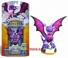 Skylanders Giants CYNDER Figure Card Sticker Web Code 2012 NEW
