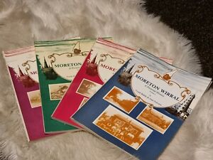 MORETON WIRRAL A PICTORIAL HISTORY VOLUMES 1-4 COLLECTION PAPERBACK
