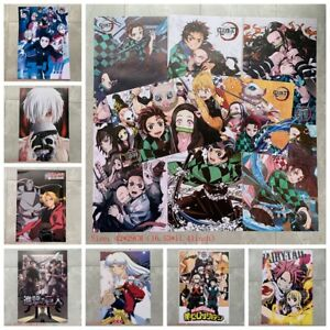 8pcs Cartoon Poster Anime Game Wall Sticker Room Decoration Painting Wall Art C