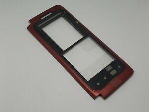 Original Nokia E90 Front Cover Red 0251848